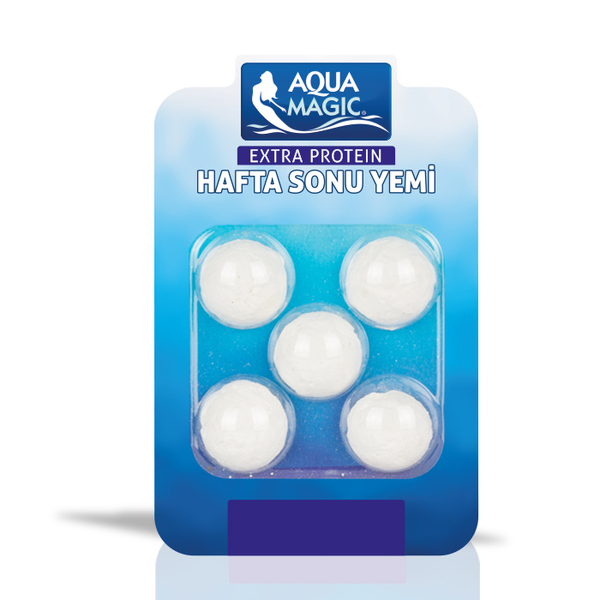 Aqua Magic Tatil Yemi 5'li 10 Adet.