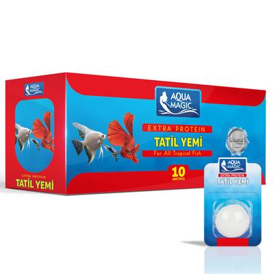 Aqua Magic Tatil Yemi Tekli 10 Adet - Thumbnail
