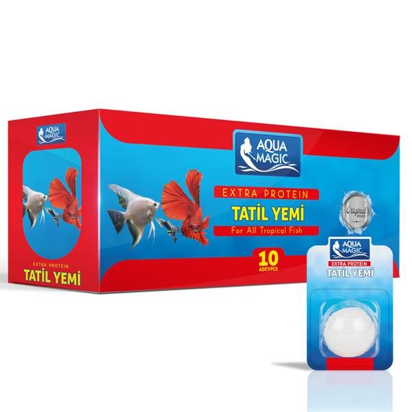 Aqua Magic Tatil Yemi Tekli 10 Adet