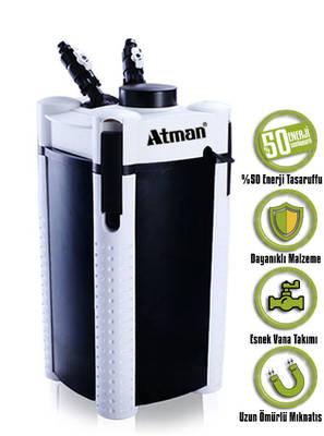 Atman - Atman 3336S Pompalı Dış Filtre.