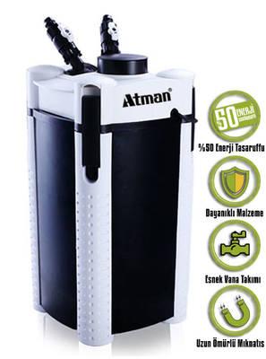 Atman - Atman 3338S Pompalı Dış Filtre.
