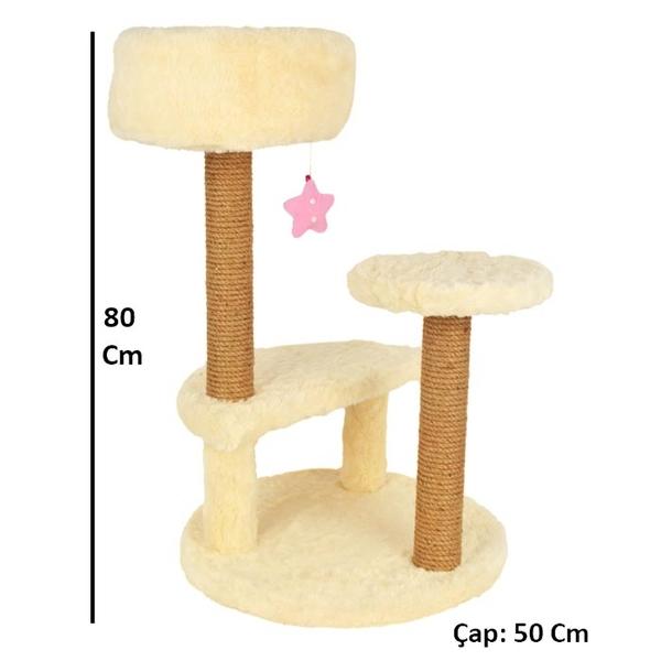 Bera Yuva Oturaklı Tırmalama 80 cm