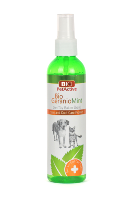 Bio PetActive Bio GeranioMint Deri-Tüy Bak. 100 ml