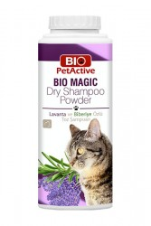 Pet Active - Bio Magic Toz Kedi Şampuanı 150 gr