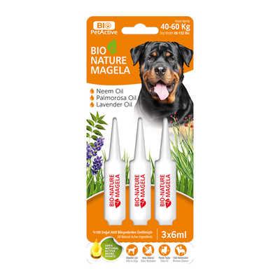 Bio PetActive - Bio Nature Magela Dog Ense Damlası 40-60 Kg 6 ml