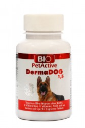 Bio Pet Active - BioPetActive Dermadog 75 gr - 50 Tablet