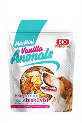 BioPetActive Vanilla Animals Ödül Bisküvisi 200 gr
