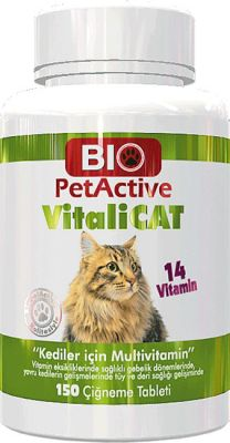 Bio PetActive Vitalicat Multivitamin 150 Tablet