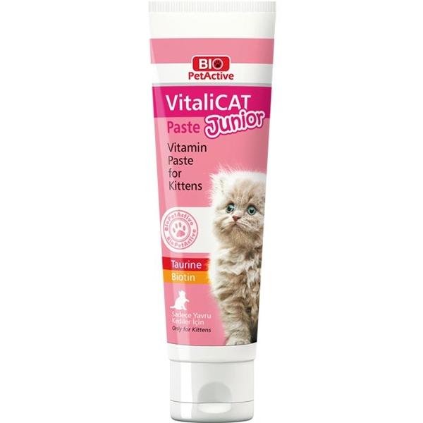 Bio PetActive Vitalicat Paste Junior 100 ml