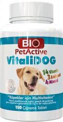Bio PetActive - Bio PetActive Vitalidog Multivitamin 150 Tablet
