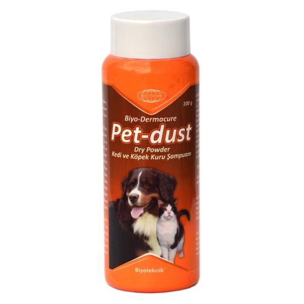 Biyoteknik Pet-Dust Dry Powder Şampuan 100 gr..