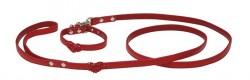 Croci - C5080034 Köpek Boyun/Uzatma Tasma Kırmızı XS
