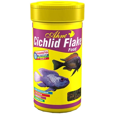 Ahm - Cichlid Flake Food 250 ml