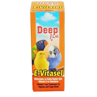 DeepFix - DeepFix E-Vitasel 30 ml Kuş Selenyum-12 Adet