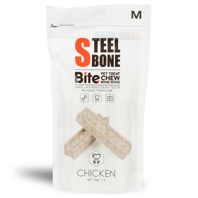 Steel Bone - Steel Bone Tavuklu Köpek Ödülü 99gr x 3'lü Poşet