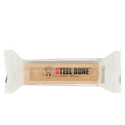 Steel Bone Tavuklu Köpek Ödülü 46gr x 6'lı Poşet - Thumbnail