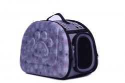 Dougesi - DK-003 Gri Kedi-Köpek Taşıma Çantası 42*33*29