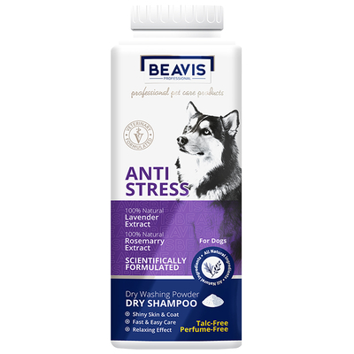 Beavis - Dog Anti-Stress Dry Shampoo 150 gr