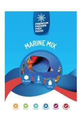 - Dondurulmuş Yem Marine Mix 100 gr.35li