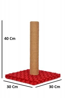 Düz Tırmalama 40 cm Kırmızı - Thumbnail