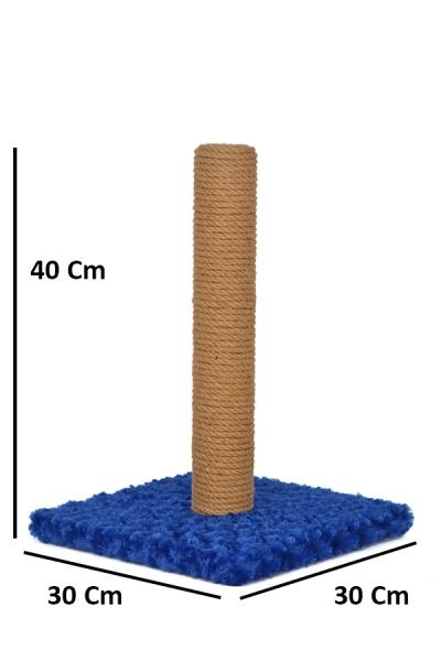 Düz Tırmalama 40 cm Mavi
