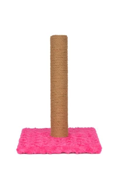 Pet Preety - Düz Tırmalama 40 cm Pembe