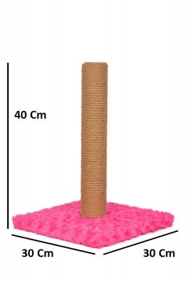 Düz Tırmalama 40 cm Pembe - Thumbnail