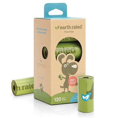 Earth Rated - Earth Rated Dışkı Torbası Kokusuz 8 Rulo-120 Poş