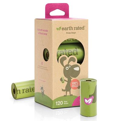 Earth Rated - Earth Rated Dışkı Torbası Lavantalı 8 Rulo-120 Poş