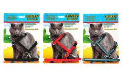Pet Preety - Edozero Kedi Göğüs Tasma Takım