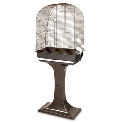 FOP Evita Sehpalı Kuş Kafesi 53x32x80 + 70 cm - Thumbnail