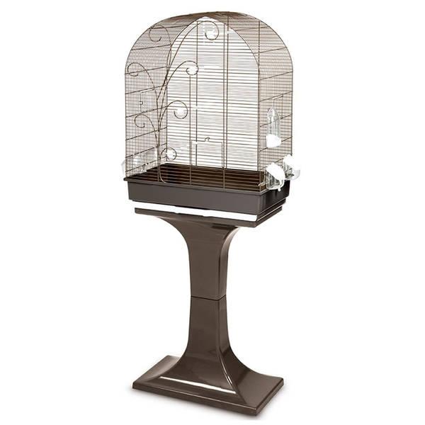 FOP Evita Sehpalı Kuş Kafesi 53x32x80 + 70 cm