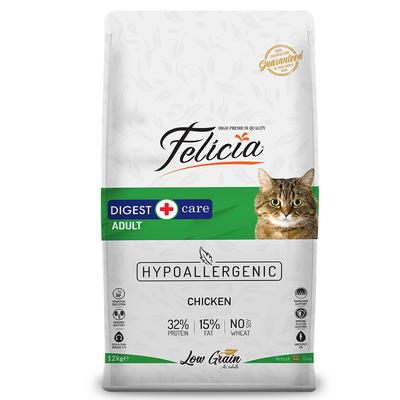 Felicia - Felicia Az Tahıllı 12 Kg Yetişkin Tavuklu HypoAllergenic Kedi Maması
