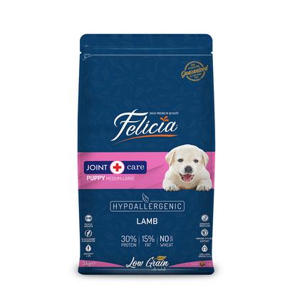Felicia - Felicia Az Tahıllı 3 Kg Yavru Kuzulu M/Large Breed HypoAllergenic Köpek Maması