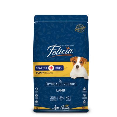 Felicia - Felicia Az Tahıllı 3 Kg Yavru Kuzulu Small/Mini HypoAllergenic Köpek Maması