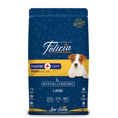 Felicia - Felicia Az Tahıllı 6 Kg Yavru Kuzulu Small/Mini HypoAllergenic Köpek Maması