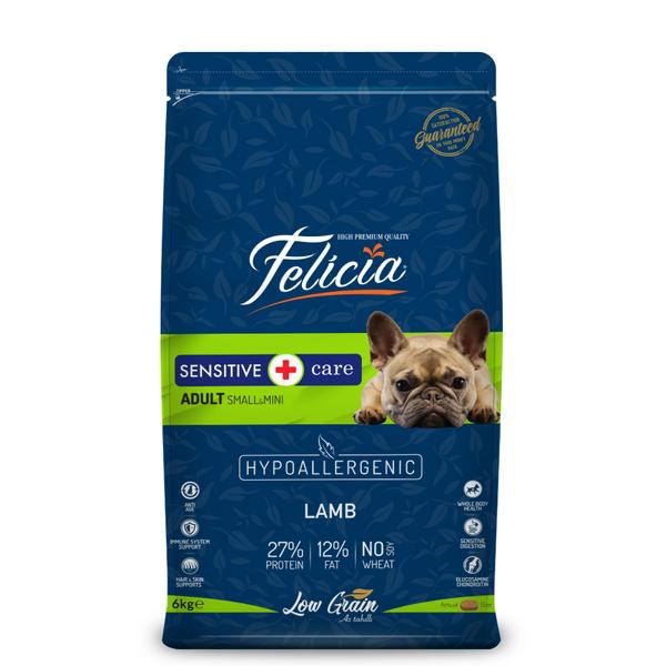 Felicia Az Tahıllı 6 Kg Yetişkin Kuzulu Small/Mini HypoAllergenic Köpek Maması