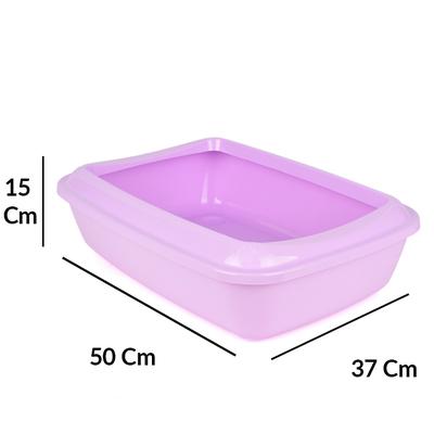 Flip Açık Lüx Kedi Tuvaleti Küçük - Thumbnail