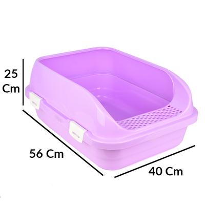 Flip Açık Lüx Kedi Tuvaleti Orta - Thumbnail