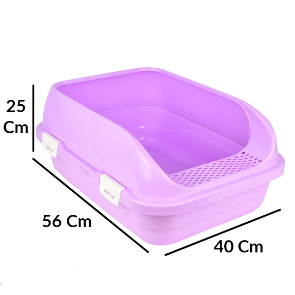 Flip Açık Lüx Kedi Tuvaleti Orta