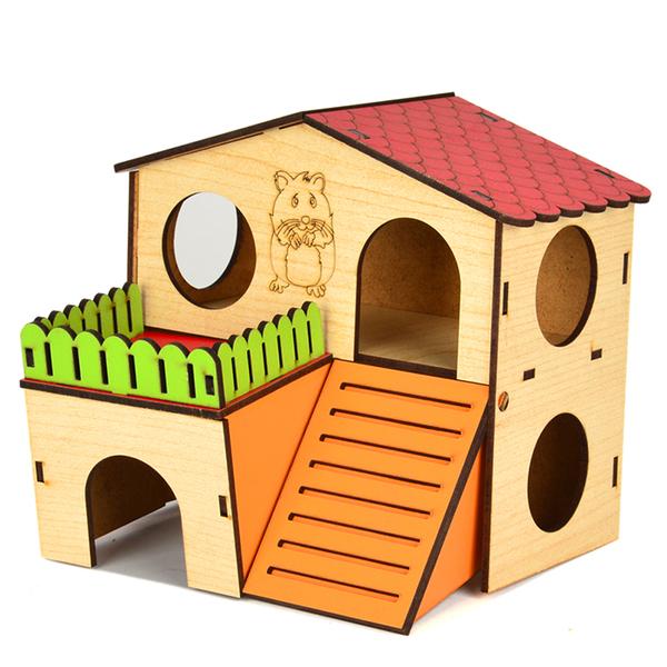 Flip Hamster Evi 2 Katlı Medium