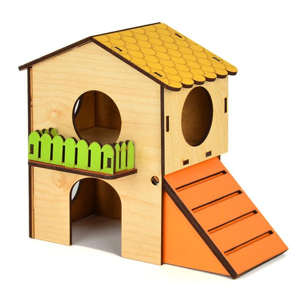 Flip Hamster Evi 2 Katlı Small