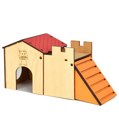 Flip - Flip Hamster Evi Tek Katlı