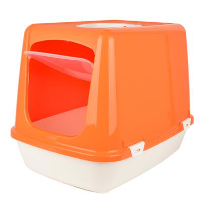 Flip Kapalı Lüx Kedi Tuvaleti Küçük - Thumbnail