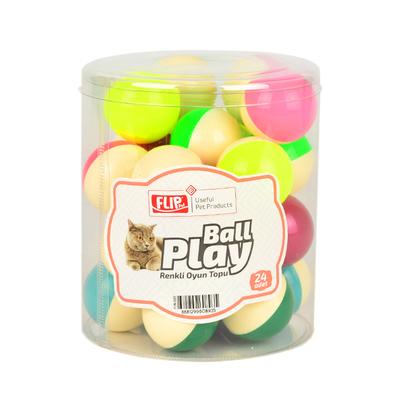 Flip Kedi Oyun Topu Renkli 24'lü - Thumbnail