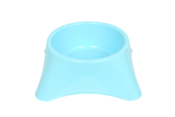 Flip Yuvarlak Mama Kabı Renkli 10'lu - Thumbnail