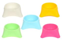 Flip - Flip Yuvarlak Mama Kabı Renkli 10'lu