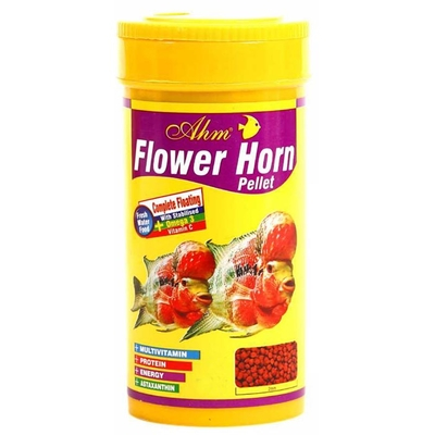 Ahm - Flower Horn Pellet 250 ml 12 Adet