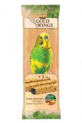Gold Wings - Gold Wings Meyveli Kraker 3'lü 10 Adet