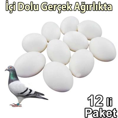Fit Fly - Güvercin Yumurtası 12'li (İçi Dolu)